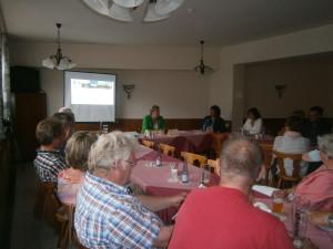 Frageabend der BfS mit Frau Kalkbrenner - Bild privat