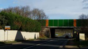 Miel Bonner Straße- B56 Blickrichtung Autobahn